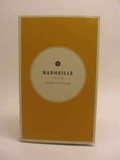 The Field Guide to Nashville is not your typical guide book. Let it take you to favorite local spots. From illustrated maps of comfort food and music stops, to stories from Roseanne Cash and Senator Bill Frist, Wildsam digs deep to find the taproots of the Music City. Only $23.99
