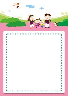 [찬진교육] 유치원 어린이집 메모지, 편지지, 안내문, 가정통신문 도안 : 네이버 블로그 Background Powerpoint, Sunday School Activities, Page Borders, Bird Crafts, Back To School, Pattern Design, Clip Art, Lettering, Illustration
