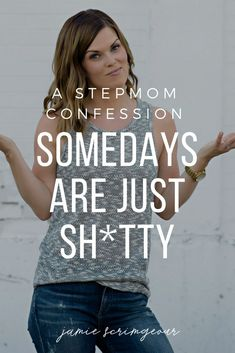 The truth is, when you're a stepmom somedays are just sh*tty For more from Jamie Scrimgeour visit www. quotes stepmom tips with a narcissist Co Parenting Classes, Step Parenting, Parenting Teens, Parenting Quotes, Parenting Hacks, Parenting Plan, Step Mum, Step Kids, Parallel Parenting
