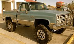 '85 Chevy K10 - working on my truck to look like this