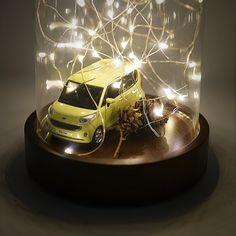 All I want is the warm and cozy Christmas - 따뜻한 불빛에 감싸인 해피 크리스마스 - #MerryChristmas #Christmas #warm #lights #happy #joyful #alliwant #wish #pinecone #drive #car #carsinstagram #diecast #RAY #KIA