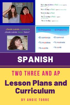 Spanish Two, Three, And AP Lesson Plans and Curriculum for an Entire Year has everything you need to teach Spanish Two, Three, and AP. These AP Lessons are based on TRIÁNGULO APROBADO TEST-PREP BOOKLET. Save a bundle by buying them all together. No prep! No book needed for Spanish Two and Three. Includes Power Points, INB Activities, Homework, Lesson Plans, Audio Practice, TPR Stories, Comprehensible Input, Quizzes and Tests, Games, and much more.