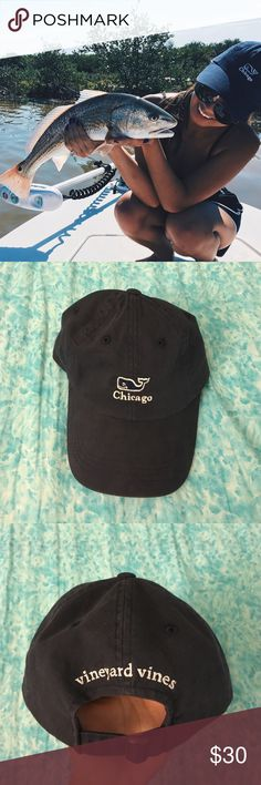 Vineyard Vines Chicago Hat/Cap Worn once in the photo and in perfect condition Vineyard Vines Accessories Hats