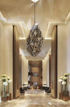 Four Seasons Hotel Kuwait at Burj Alshaya Commercial Interior Design, Best Interior Design, Commercial Interiors, Commercial Architecture, Lobby Design, Four Seasons Hotel, Corporate Interiors, Office Interiors, Hospitality Design