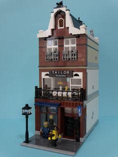 Lego Modular Building Taylor #lego #brickadelics #modular #building