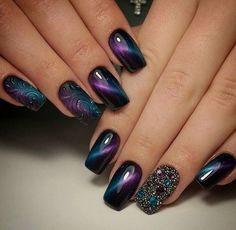 Wonderful cat eye nails