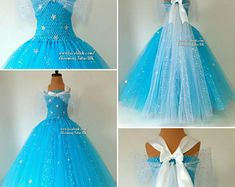 Ice Queen Tutu Super Sparkly Dress-Birthday, Party, Photoshoot, Pageant, Fancy D … – The World Vestidos Junior, Junior Dresses, Ball Dresses, Ball Gowns, Ice Queen Dress, Diy Dress, Fancy Dress, Princesa Elsa Frozen, Robes Pour Juniors