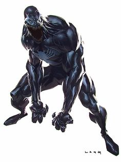 Venom by Ryan Lang #comics #art