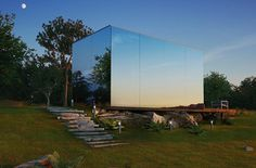These Mirrored Prefab Homes Can Be Built in Just 8 Hours