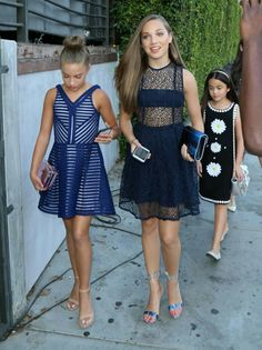 Mackenzie and Maddie, pre party for teen choice awards. Xx