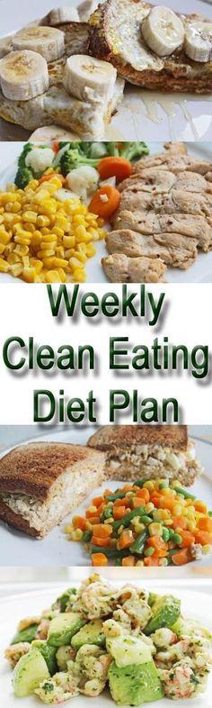 Clean Eating Meal Plan | Clean Eating Diet Plan Meal Plan and Recipes #cleaneating #healthyeating #healthyweightloss by randi
