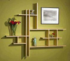 Usando maderas como diseño decorativo