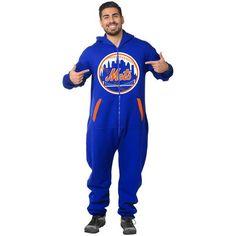 New York Mets Klew Team Logo Sports Suit - Royal