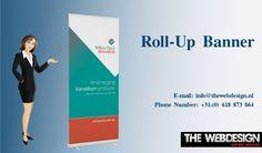 #TheWebDesign Biedt een selectie van intrekbare #RollUpBanner staat aan de beste prijs. Rock And Roll, Banners, Web Design, Printing, Design Web, Rock N Roll, Banner, Posters, Website Designs