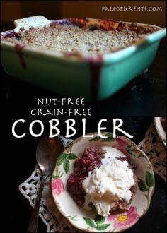 Nut-Free Cobbler #paleo