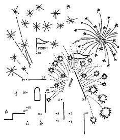 18 best fireworks clipart images images 4th of july party How Fireworks Work dot to dot july word search puzzles preschool activities mazes and more free coloring pages offers many printable games and activities for kids