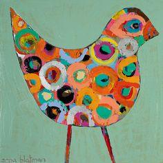 Christian Anderson, Abstract Animals, Hans Christian, Elements Of Art, Art Activities, Elementary Art, Bird Art, Art Tutorials, Altered Art