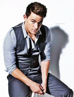 Channing Tatum...thought about putting this on my Christmas list board...but I didn't :p LOL