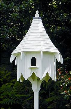 dovecote | when did the birds get to live in a fancier house than i do?