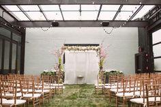 boho floral and ceremony decor