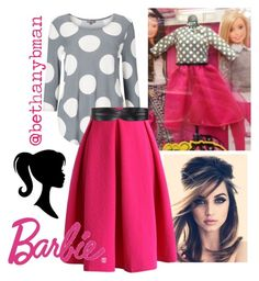 """""""Barbie inspired"""" by bethanybman on Polyvore featuring Retrò, Phase Eight, Chicwish and BCBGMAXAZRIA"""