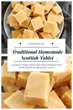 Scottish tablet Scottish tablet - it's not fudge and its certainly not toffee.- Scottish tablet Scottish tablet – it's not fudge and its certainly not toffee…. Scottish tablet Scottish tablet – it's not fudge and… - Scottish Tablet Recipes, Irish Recipes, Sweet Recipes, Hard Candy Recipes, Fudge Recipes, Baking Recipes, Dessert Recipes, Shortbread Recipes, Christmas Baking