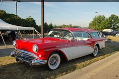 1957 buick super | ... sans montants centraux (hardtop) de la Buick Century de 1957 et 1958