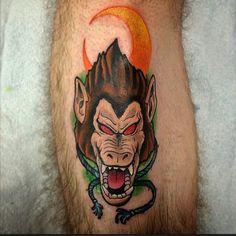 Great ape tattoo Dbz, I Tattoo, Watercolor Tattoo, Skull, Dragon, Wallpaper, Tattoo, Wallpapers, Dragons
