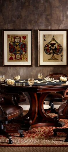 Poker Table Will Turn Your Man Cave into a MAN Cave Photos) Suburban Men - Poker RoomSuburban Men - Poker Room Basement Remodel Cost, Basement Remodeling, Cost To Finish Basement, Basement Finishing, Wal Art, Man Cave Room, Man Cave Art, Man Caves, Remodeling Costs
