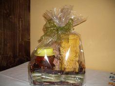 darčekový kôš- sviečka med