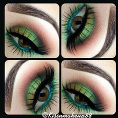 gorgeous green eyeshadow