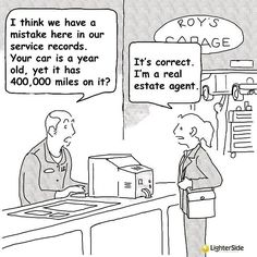 A little real estate humor to start off Saturday morning... Thanks to LighterSide of Real Estate! #zimmerglimerealestate #hallandhunter #realestatehumor