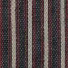 De Le Cuona Chad Stripe in Navy, red & cream.....one of my favourite linens