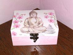 boîte à bijoux en bois bouddha décorative : Boîtes, coffrets par…
