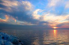 Sunset in Tilghman island