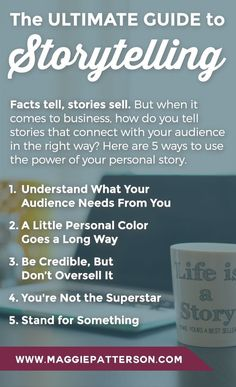 The Power Of Your Personal Story in your business copy At the heart of storytelling is making an emotional connection with your audience and many times sharing something your audience can see themselves in is just as powerful as a rags to riches or over Business Storytelling, Digital Storytelling, Inbound Marketing, Social Media Marketing, Content Marketing, Business Stories, Business Tips, Business Coaching, Business Education