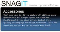 SnagIt users - Did you know you can install add-ons to share your captures to YouTube, Twitter and other places?