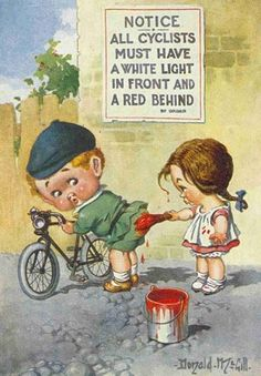 If you're going to ride you must have a red behind!