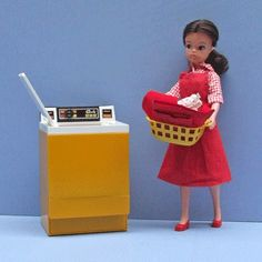 Sindy. Way cooler than Barbie in my opinion because she was a brunette!