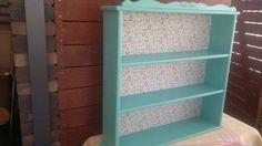 Upcycled babushka bookcase