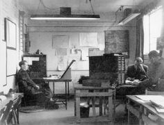Code-breaking at Bletchley Park, 1943. -- High quality art prints, canvases, postcards, mugs -- SSPL Prints