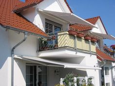 Balkon-Markse, Kassettenmarkise Leiner RIVA