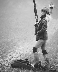 Armed and Beautiful - In the Field...
