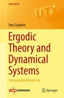 Ergodic theory and dynamical systems / Yves Coudène ; translated by Reinie Erné #novetatsfiq2018