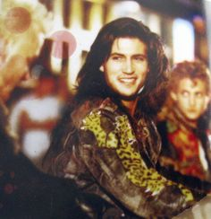 Billy Wirth gives a smile behind the scenes in The Lost Boys (1987) Source: Lost In The Shadows (Paul Davis)