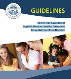 20 best aba billinginsurance images on pinterest aba autism publication of guidelines for aba treatment of asd fandeluxe Gallery