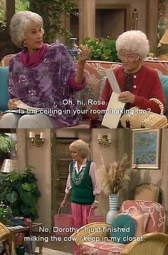 I hope I'm still this sarcastic when I'm old
