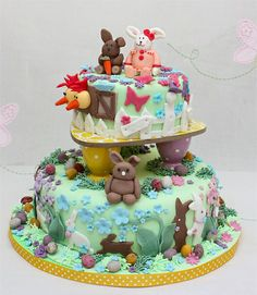 Cute Easter Cake