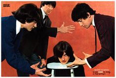 The Kinks 60s Rock, The Kinks, Rare Images, British Invasion, Classic Rock, Rock Music, The Beatles, Kinky, Blues
