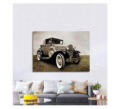 Πίνακας σε καμβά, τελαρωμένος – έτοιμος για τοποθέτηση   Εκτύπωση θέματος με ψηφιακή εκτύπωση σε καμβά 100% βαμβακερό  Τελάρο κουτί 4,5 cm Antique Cars, Classic Cars, Antiques, Vintage, Vintage Cars, Antiquities, Antique, Vintage Classic Cars, Vintage Comics